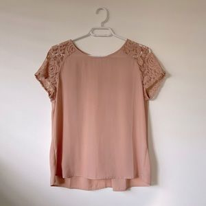 Forever 21 Dusty Rose Dress Top